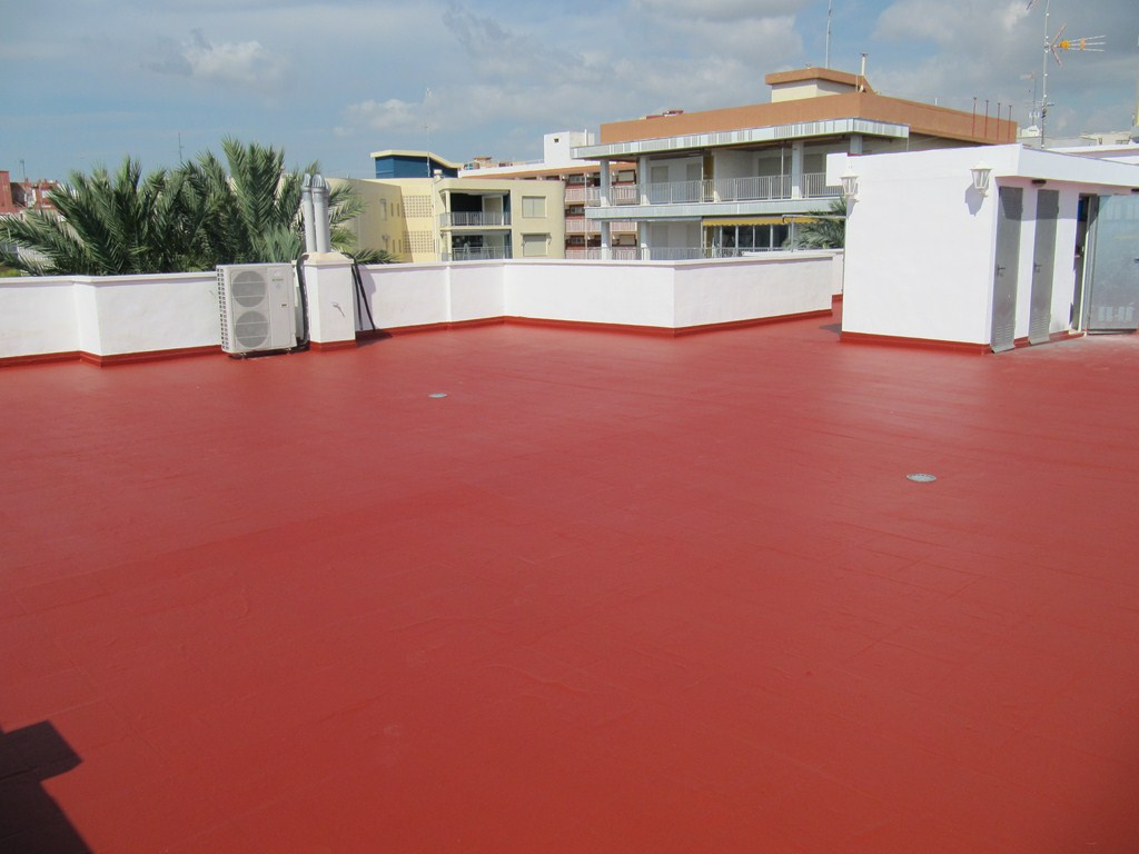 Impermeabilizante venta de equipos y materiales para la for Materiales para techos de casas